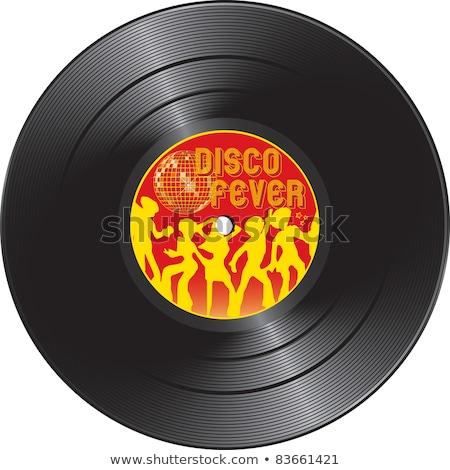 Vinyl record with summer hits Stock photo © Silvek