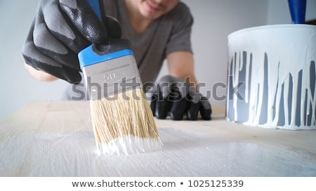 Painter Brush Man Stock photo © sframe