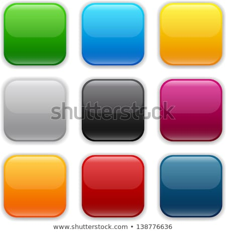 colored app buttons set stock photo © make