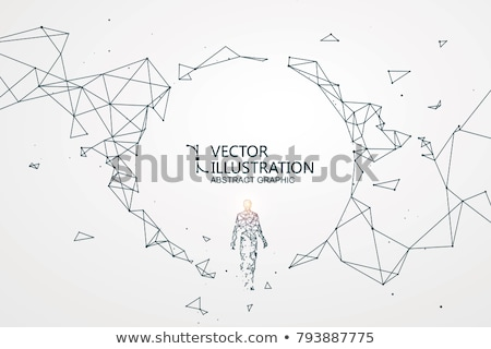 intelligencia · absztrakt · terv · háttér · agy · gép - stock fotó © 4designersart