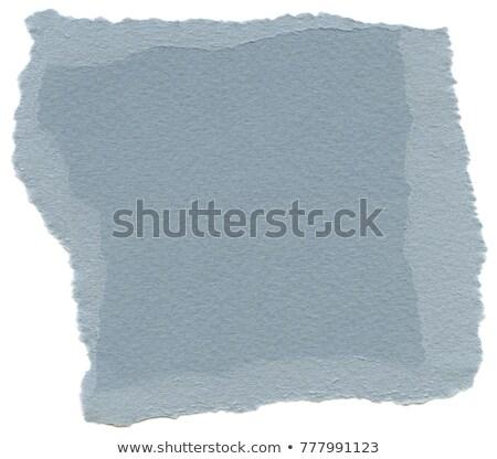 Vezel Papierstructuur lucht Blauw hoog Stockfoto © eldadcarin