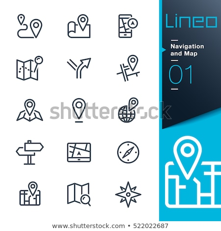 city navigation icons stock photo © cteconsulting
