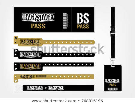 Backstage Pass Stock photo © blamb