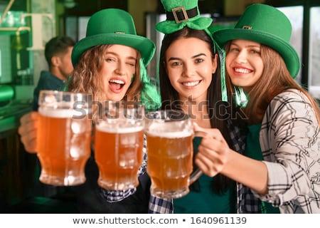 Dag meisje beer Stockfoto © radivoje