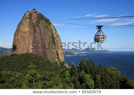 Сток-фото: Рио-де-Жанейро · икона · город · строительство · штампа · открытки