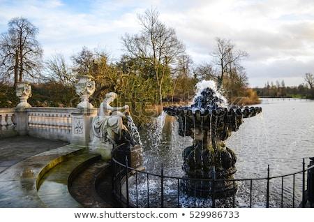 italian garden in kensington gardens london stock photo © chrisdorney
