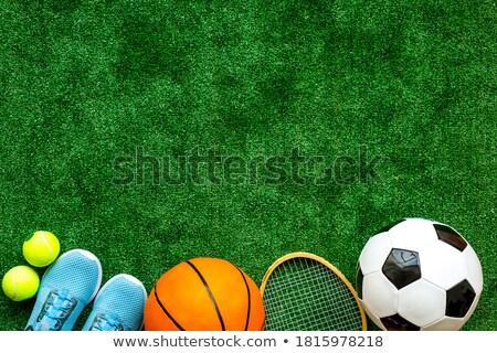 テニス バスケットボール 背景 スポーツ フィールド 砂 ストックフォト © Alegria111