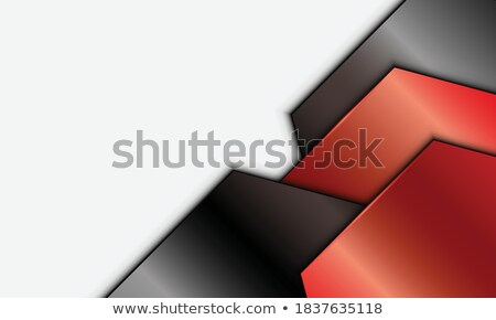 white paper arrow with shadow background for your business presentation stock photo © gladiolus