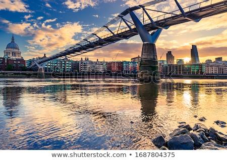 Foto stock: Ver · catedral · cidade · Londres