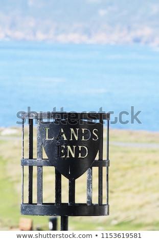 Cornwall İngiltere güzel gün deniz kum Stok fotoğraf © chris2766