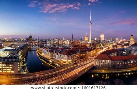 Берлин · Германия · мнение · телевидение · башни - Сток-фото © photocreo