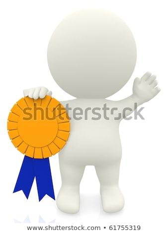 3d ember díj kéz sport siker út Stock fotó © almir1968