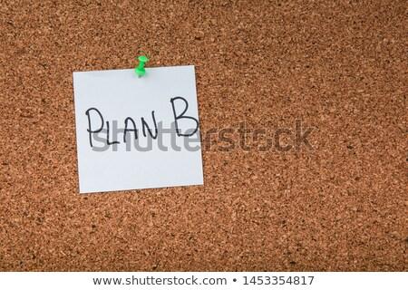 piano · plan · b · scelta · strategia · cambiare - foto d'archivio © stevanovicigor