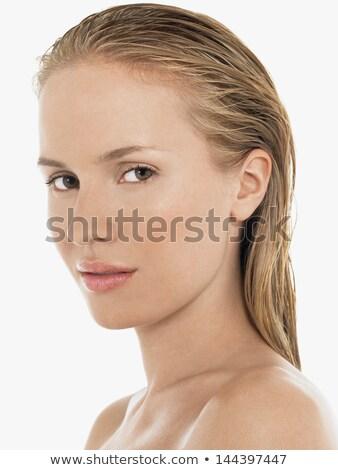 Sultry seductive blond woman Stock photo © stryjek