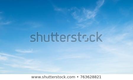Suave azul nubes vector arte signo Foto stock © burakowski