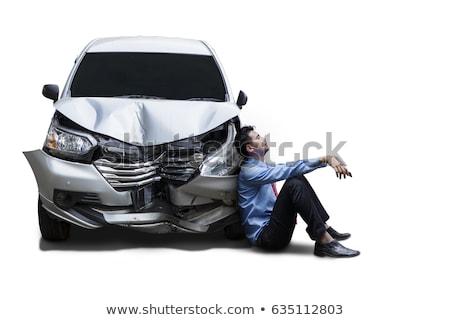 car after crash stock photo © mikko