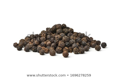 Black pepper  isolated on the white background  Stock photo © EwaStudio