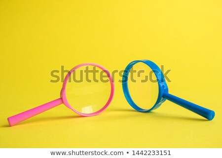 Background with colorful magnifying glasses Stock photo © shawlinmohd