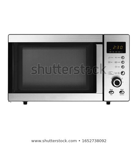 オーブン · ホーム · 金属 · キッチン - ストックフォト © ava