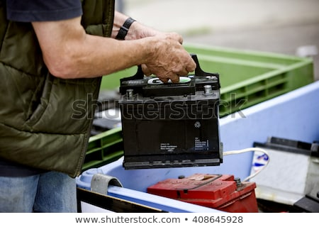 Hombre reciclaje centro ropa feliz ropa Foto stock © monkey_business