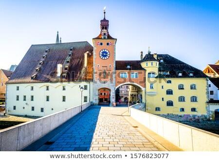 паломничество · Церкви · изображение · Германия · закат · здании - Сток-фото © joyr