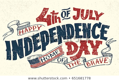 4th of july american independence day texture background vector stock photo © bharat