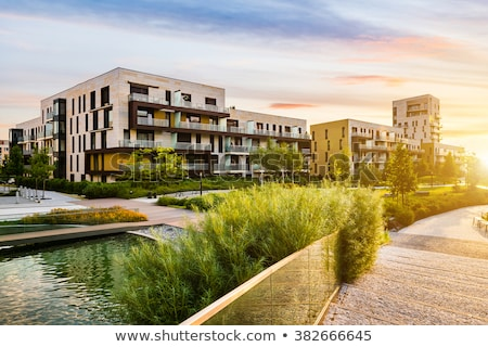 Apartment block building Stock photo © cherezoff
