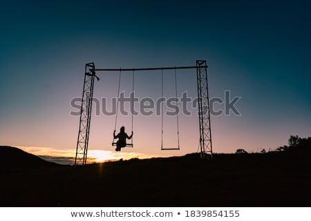 Bekleme salıncak başlatmak Stok fotoğraf © aspenrock