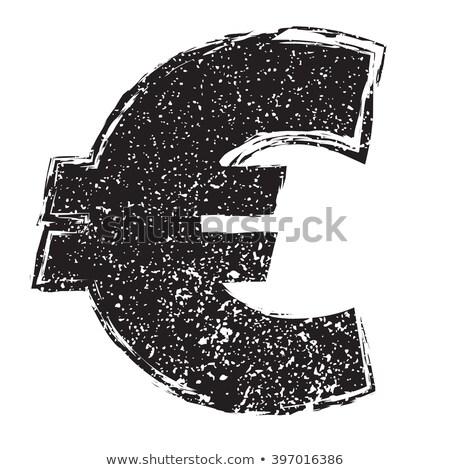 eu euro   grunge financial background stock photo © lizard