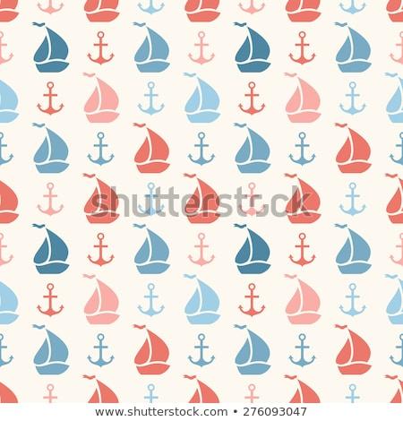 starych · żaglówce · zwrócić · żagiel · łodzi · proste - zdjęcia stock © mcherevan