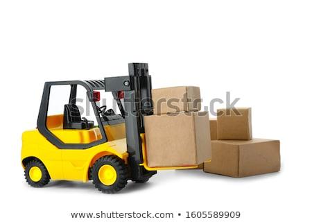 industriële · speelgoed · witte · bouw · werk · achtergrond - stockfoto © simpson33