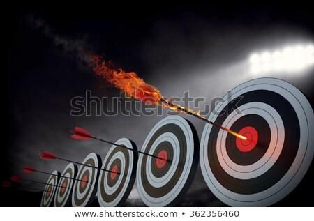 Successful archer Stock photo © pressmaster