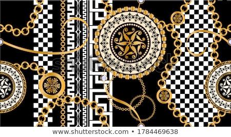 Decorated tiles, arabian style stock photo © Luisapuccini