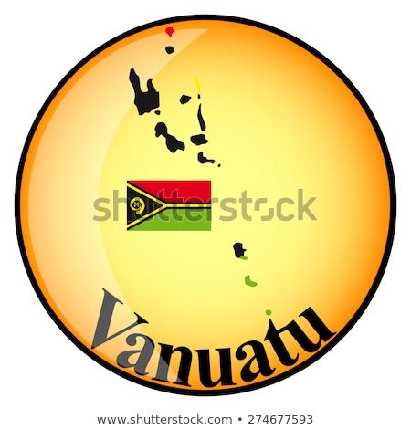Laranja botão imagem mapas Vanuatu forma Foto stock © mayboro