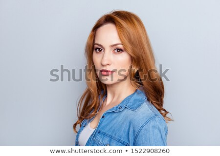 Hipster redhead looking up thinking Stock photo © wavebreak_media