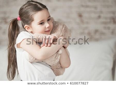 açık · doğum · günü · partisi · küçük · sevimli · kız · anne - stok fotoğraf © dash