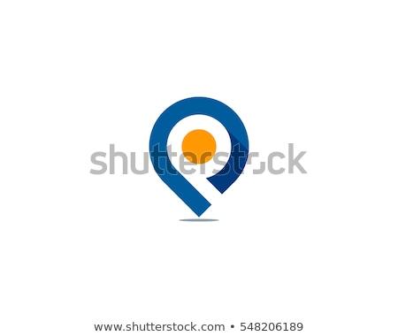 absztrakt · üzlet · tér · pont · logo · szimbólum - stock fotó © blaskorizov