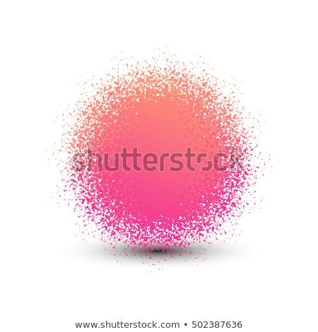 Résumé vecteur logo vacances anniversaire signe Photo stock © butenkow