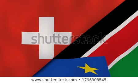 Switzerland and South Sudan Stock photo © Istanbul2009