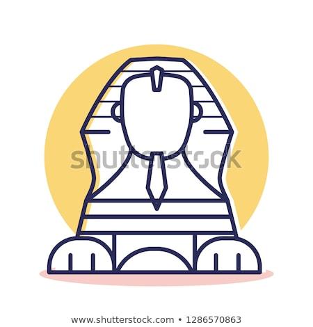 大スフィンクス · ギザ · ピラミッド · エジプト · プロファイル - ストックフォト © morphart