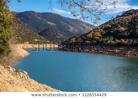 river ladonas dam stock photo © ankarb