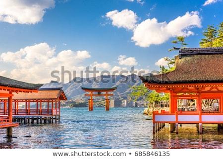 floating torii Miyajima Hiroshima Stock photo © vichie81