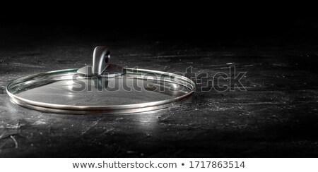 Glass lid on a pot Stock photo © Digifoodstock