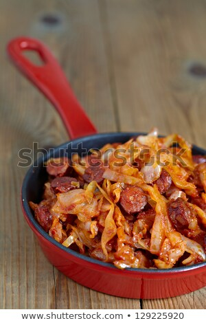 растительное · тушеное · мясо · базилик · красный · черный · жизни - Сток-фото © digifoodstock