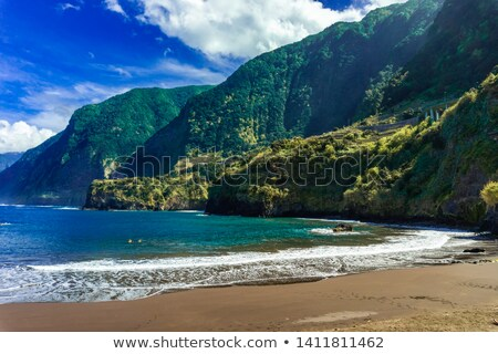 Porto Moniz, north of Madeira island,  Portugal stock photo © brozova