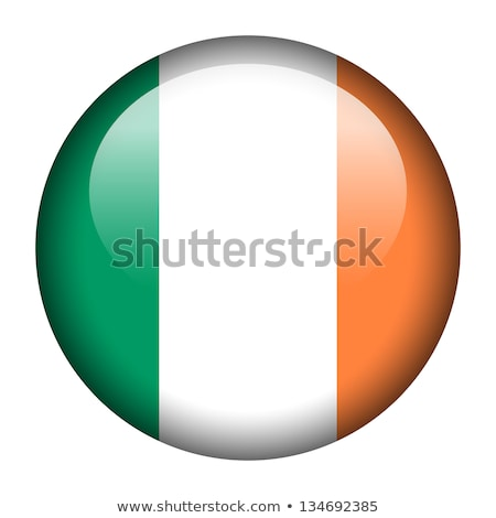 ireland flag button stock photo © ojal