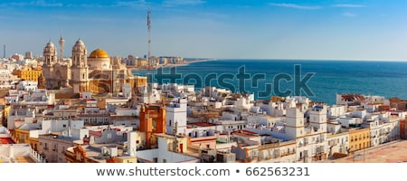 スペイン · 地中海 · 海 · ビーチ · 市 - ストックフォト © pedrosala