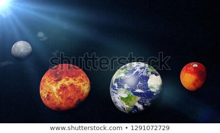 Inner Planets Stock photo © bluering