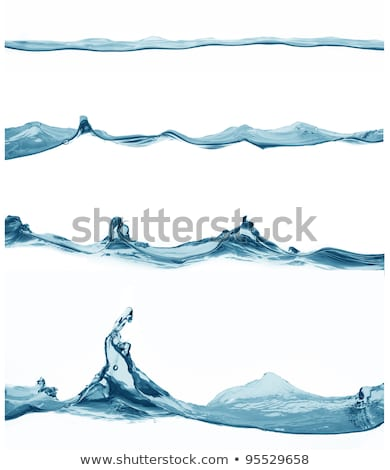 water surface with waves ripples and drops stock photo © bestmoose