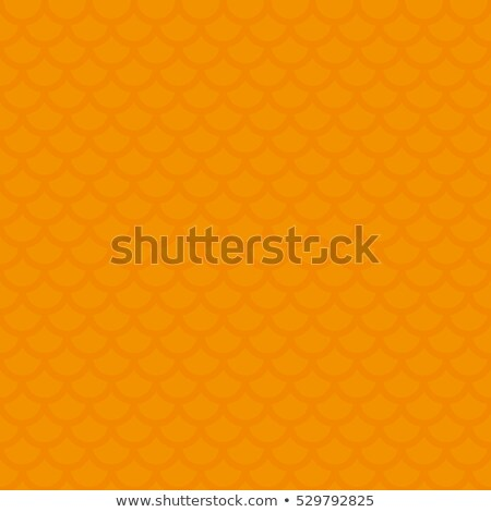 fish scale orange neutral seamless pattern for modern design in stock photo © almagami